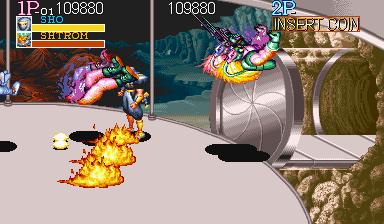 突击队长(名将)-双兽同时被一闸两段-一命通关专题-传说中的火光